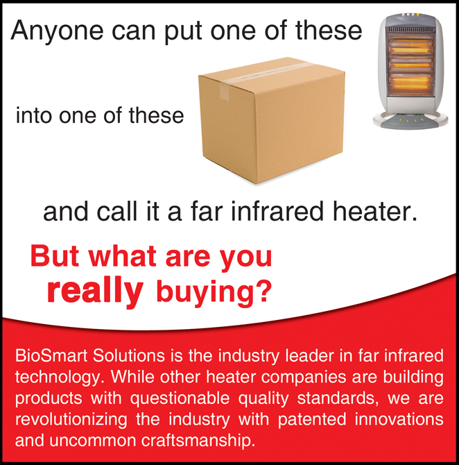 BioSmart is the best infrared heater brand