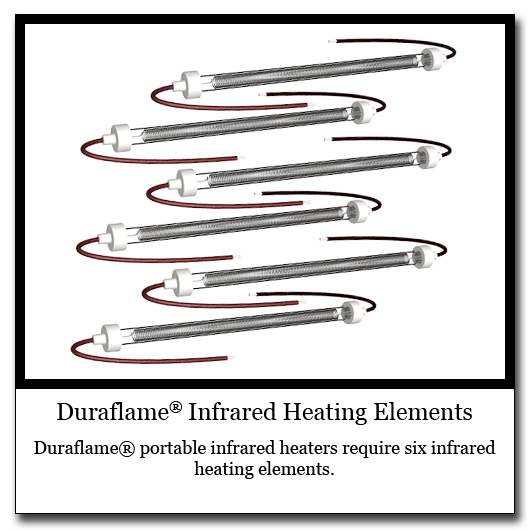 Duraflame Quartz Infrared Heating Elements