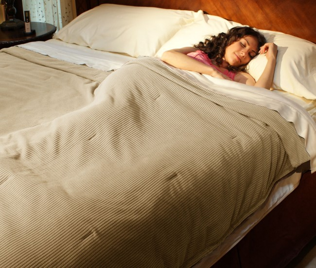 Infrared blanket used in bed